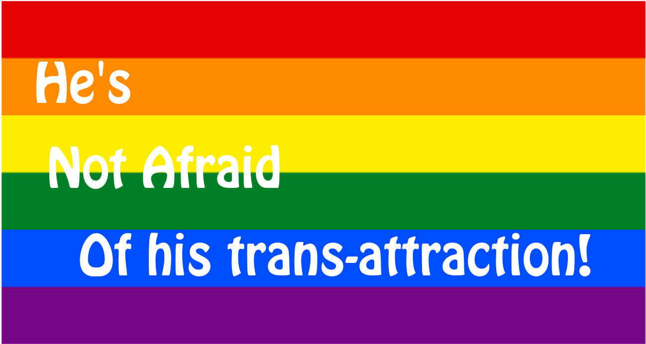 David-Andrew is proud of his Transamory