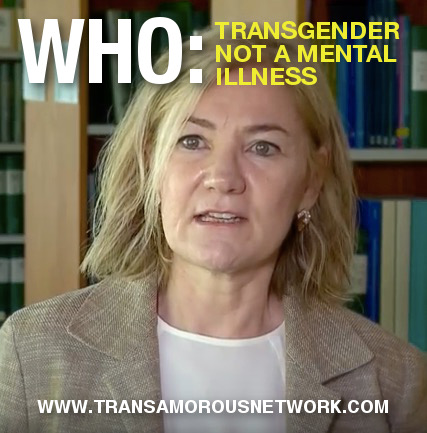 Transgender not a mental illness: WHO